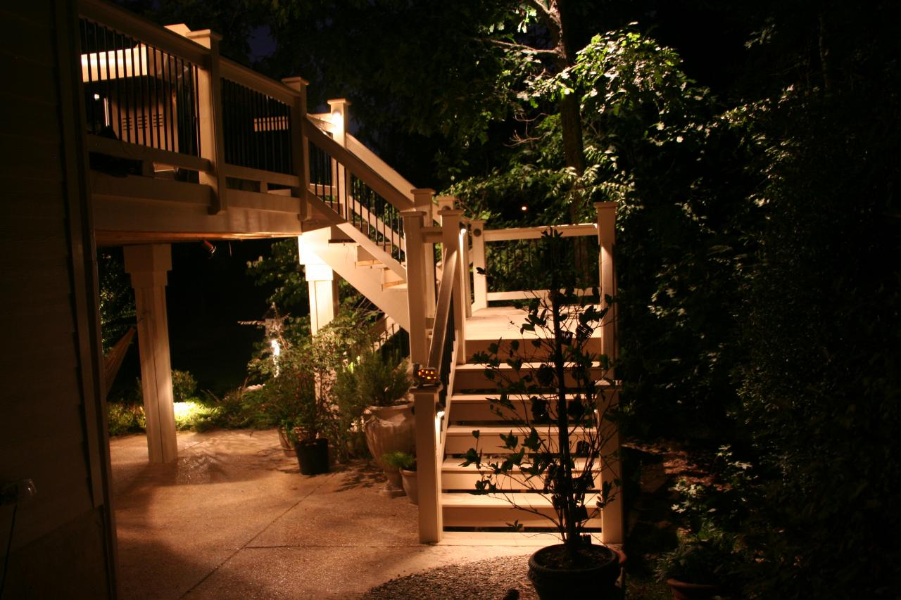 Outdoor Lighting Decks